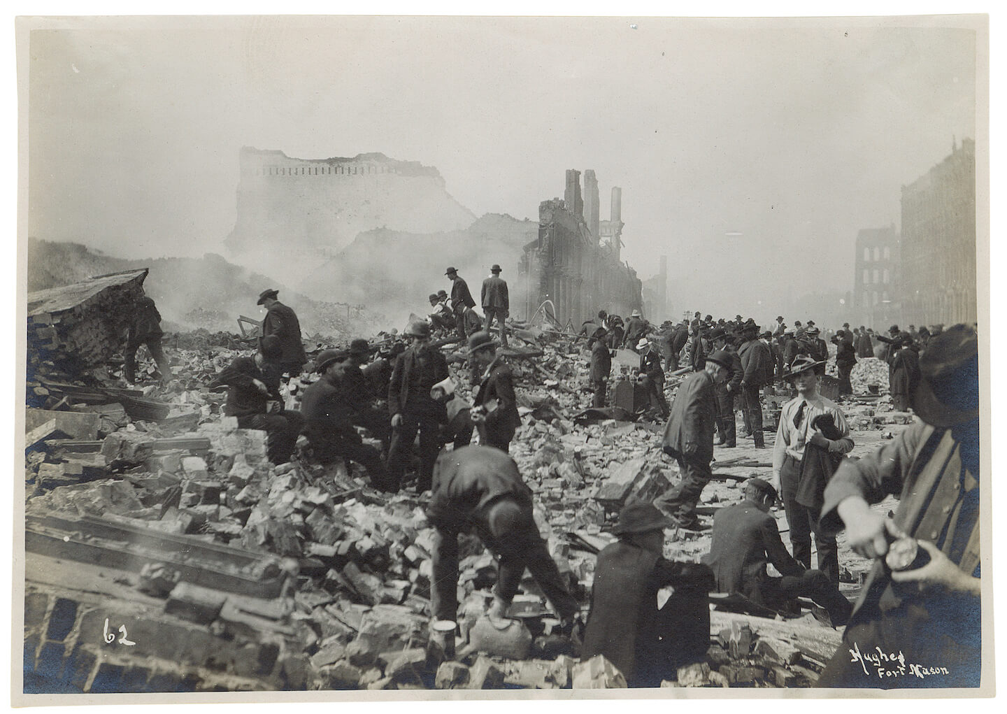 San Francisco Earthquake aftermath